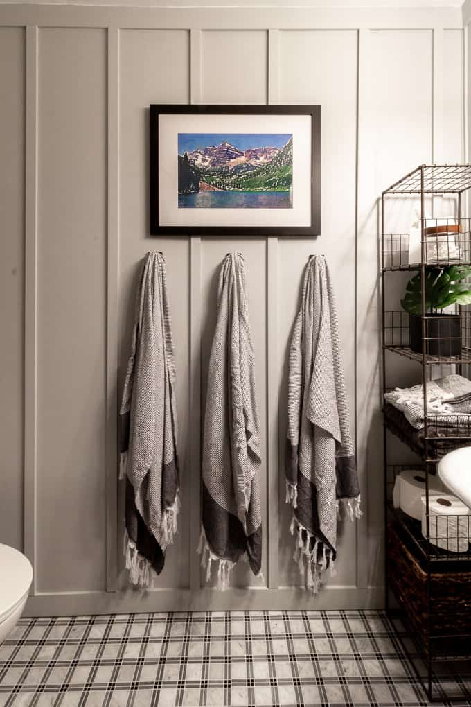 Fauta Towels in Modern Bathroom