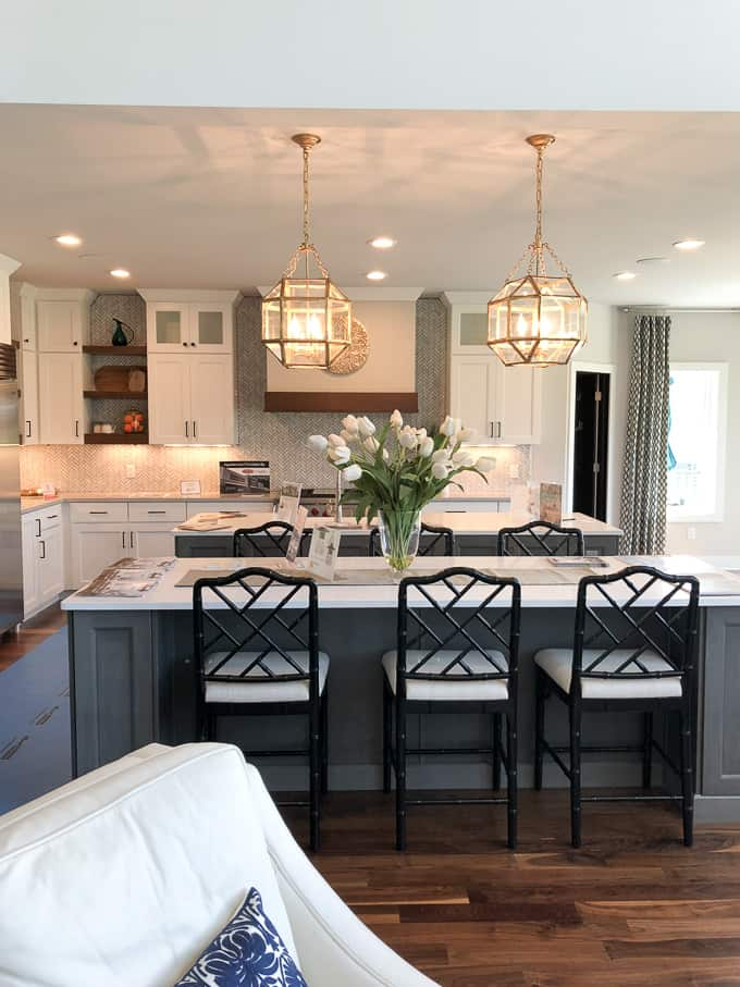 Kitchen with Two Islands, Double Kitchen Islands