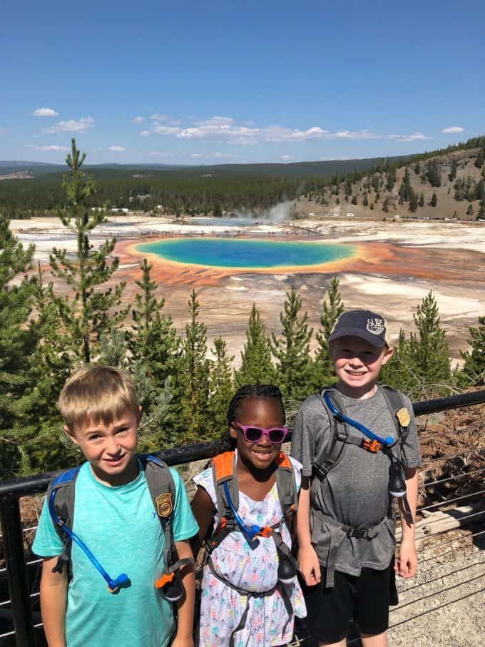 Grand Prismatic with Kids
