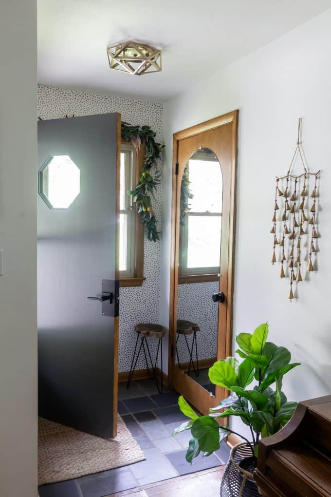 Affordable Entryway Updates