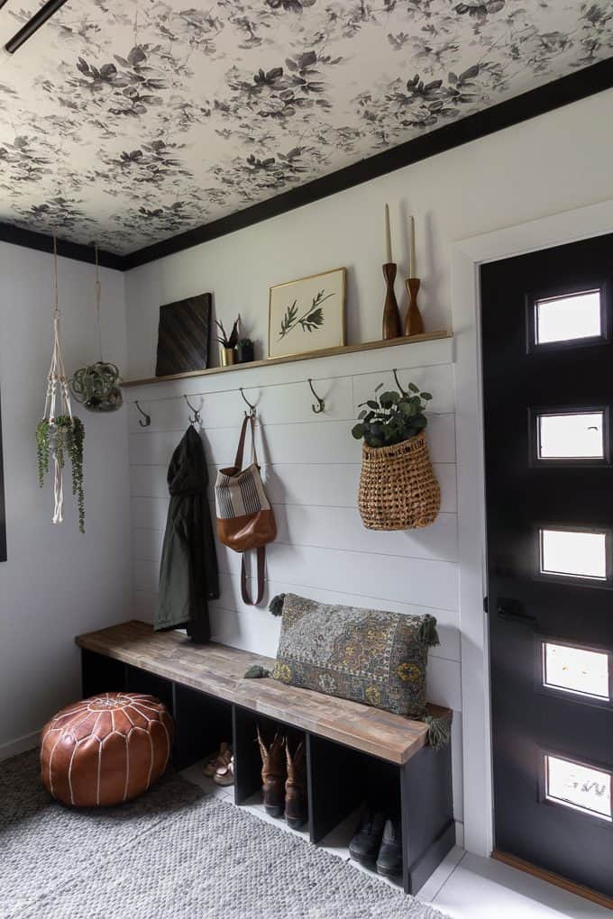 Mudroom with Built in Bench