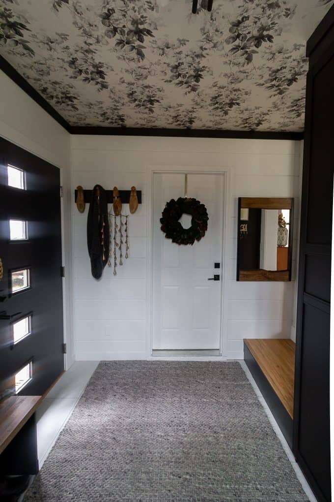 Mudroom with MCM Door