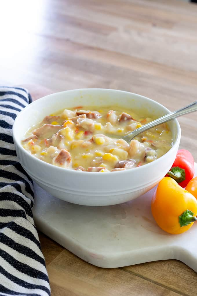 Shrimp and Sausage Chowder (2 of 13)