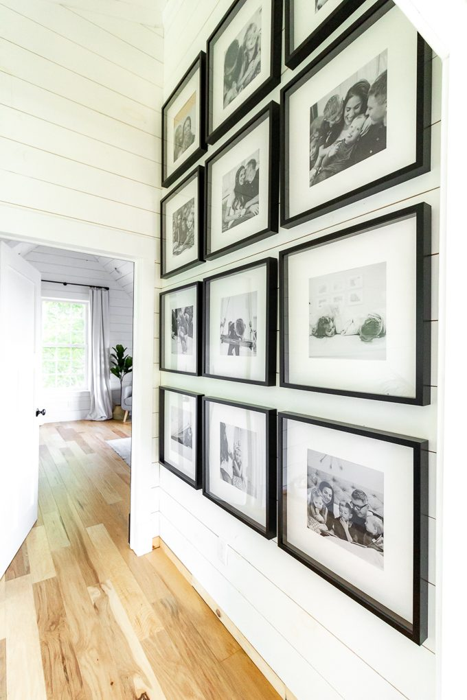 Black and White Gallery Wall