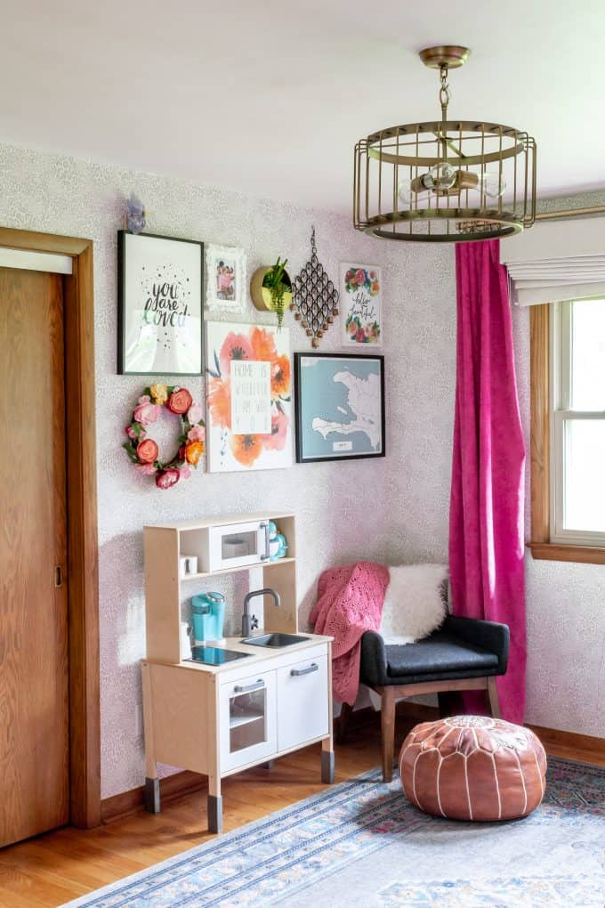 Girl Room Gallery Wall