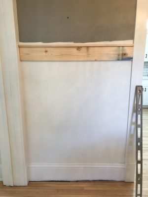 Board and Batten with Picture Ledge