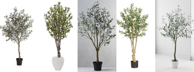 Faux Olive Trees