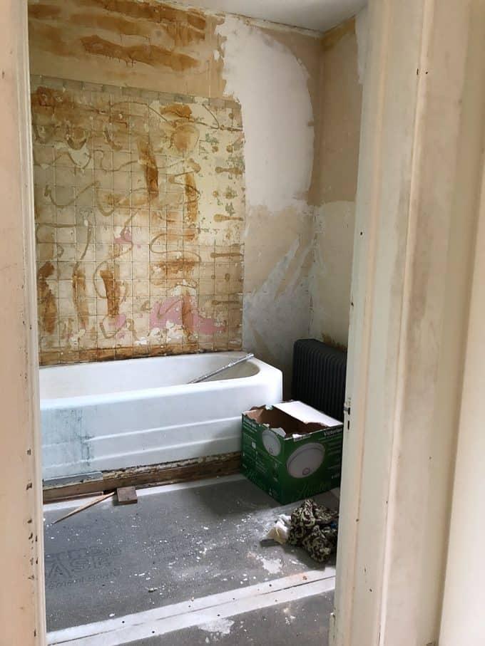 Renovating a Historic Bathroom