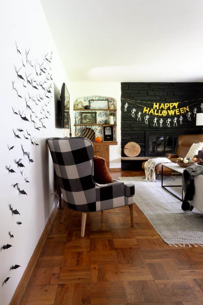Fun and Modern Halloween Home Decor