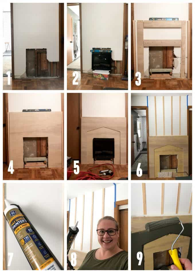 Step By Step Installing an Electric Fireplace