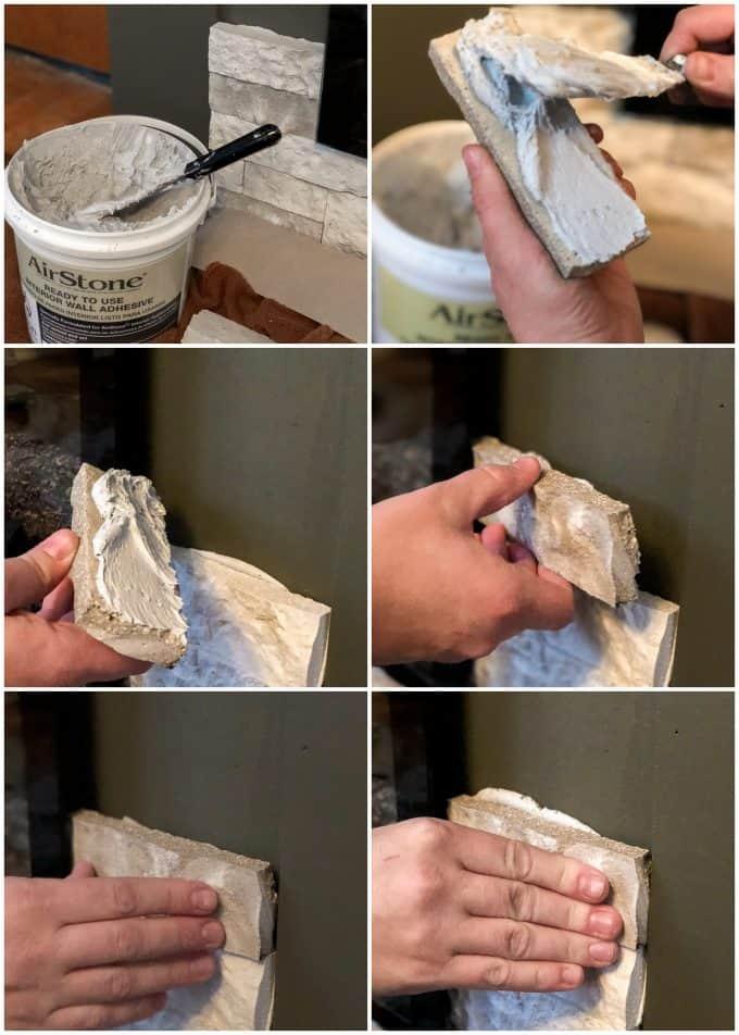 Installing Airstone