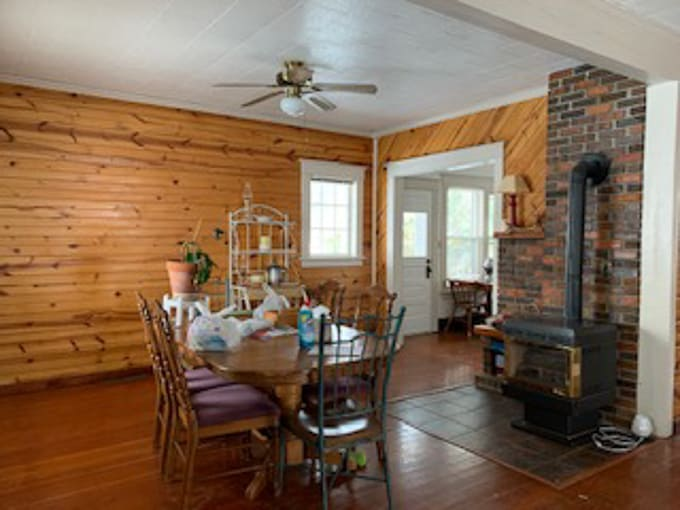 Farmhouse Living Room Before