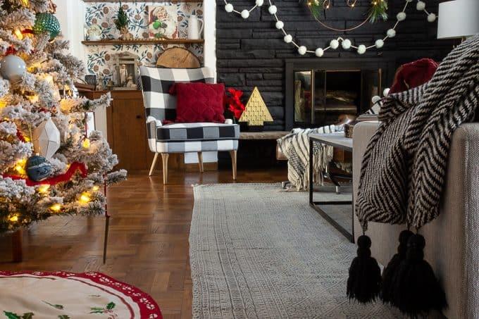 Scandinavian Modern Christmas Home Tour