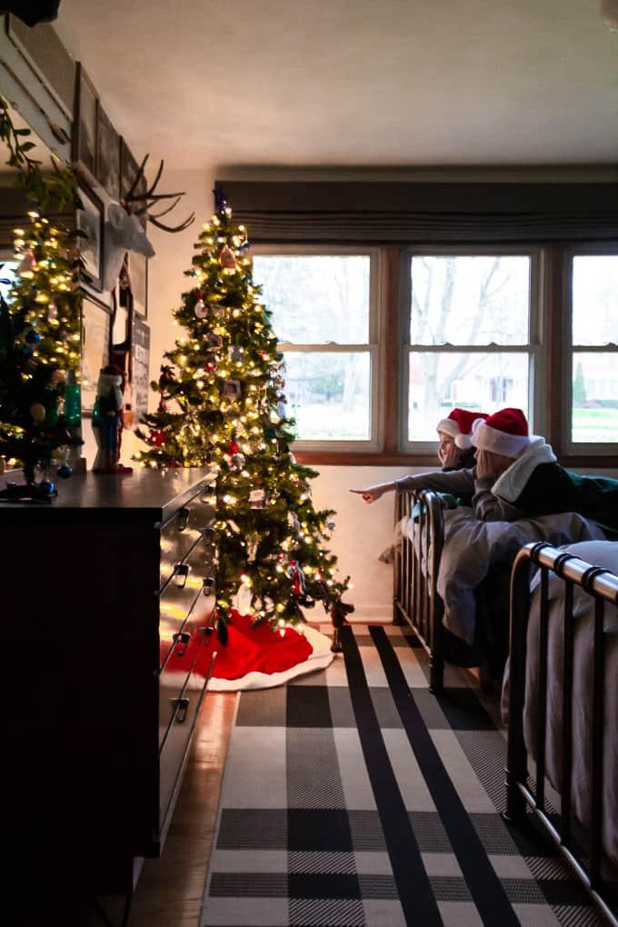 Kids Bedroom Christmas Tree