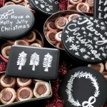 Chalkboard Cookie Tins