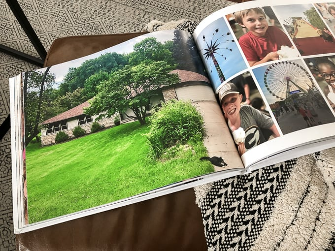 Photo of House in Annual Photo Book