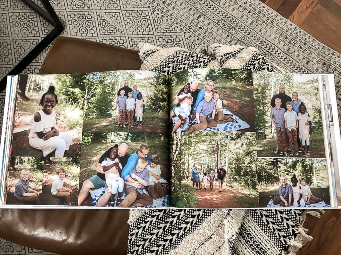 Shutterfly Photo Book Spread
