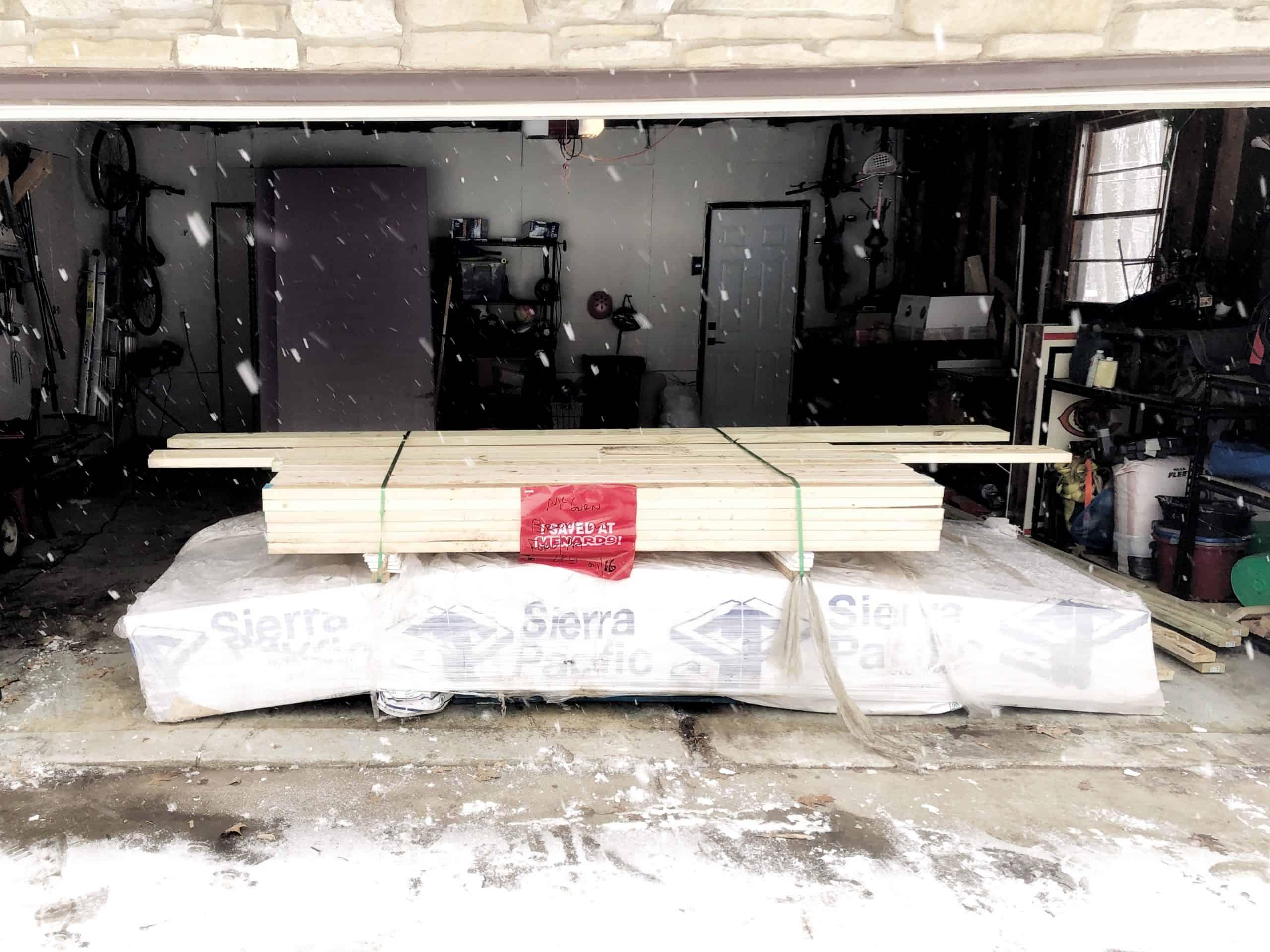 Menards Supply Delivery