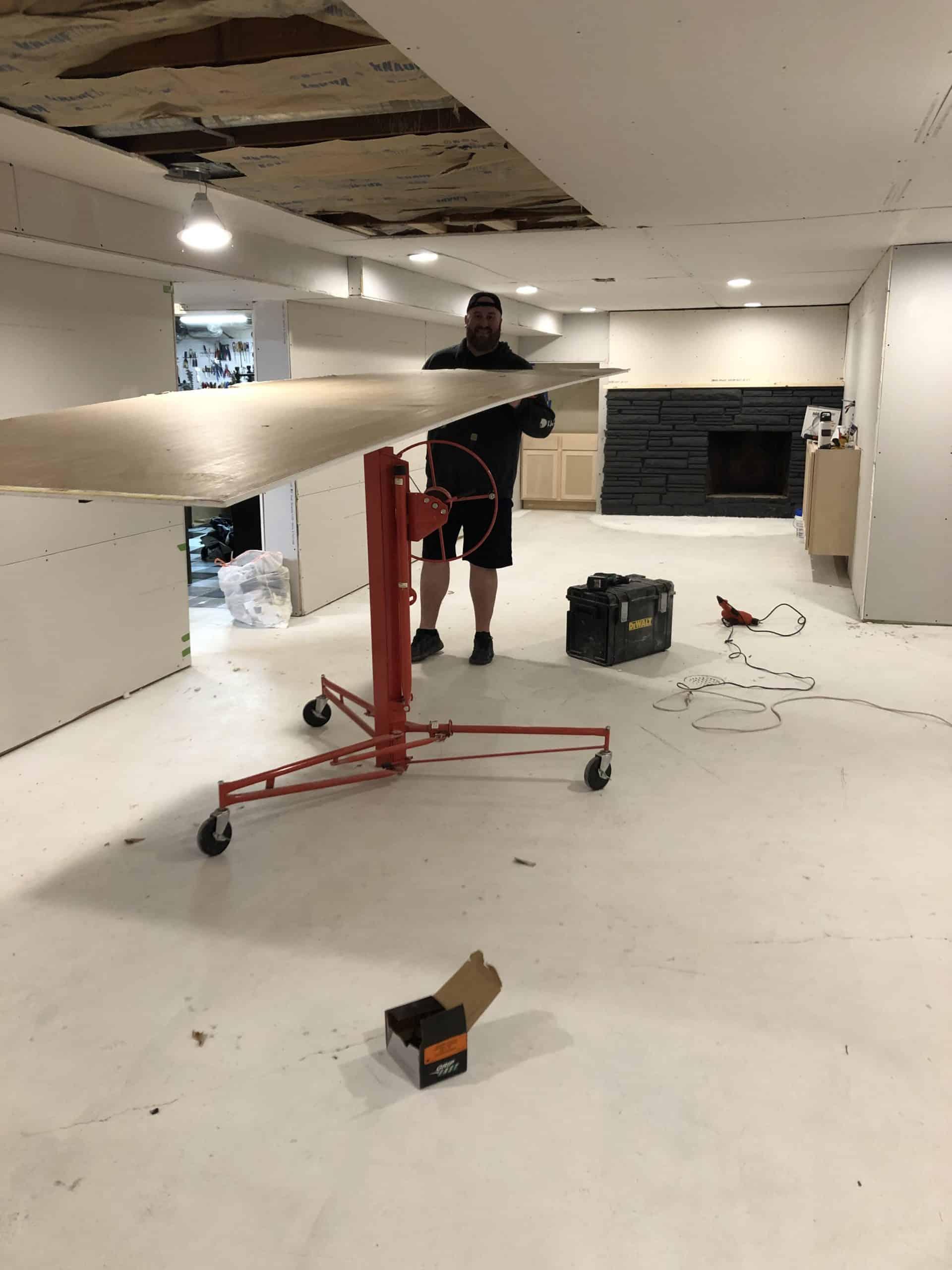 DIY Drywall Installation