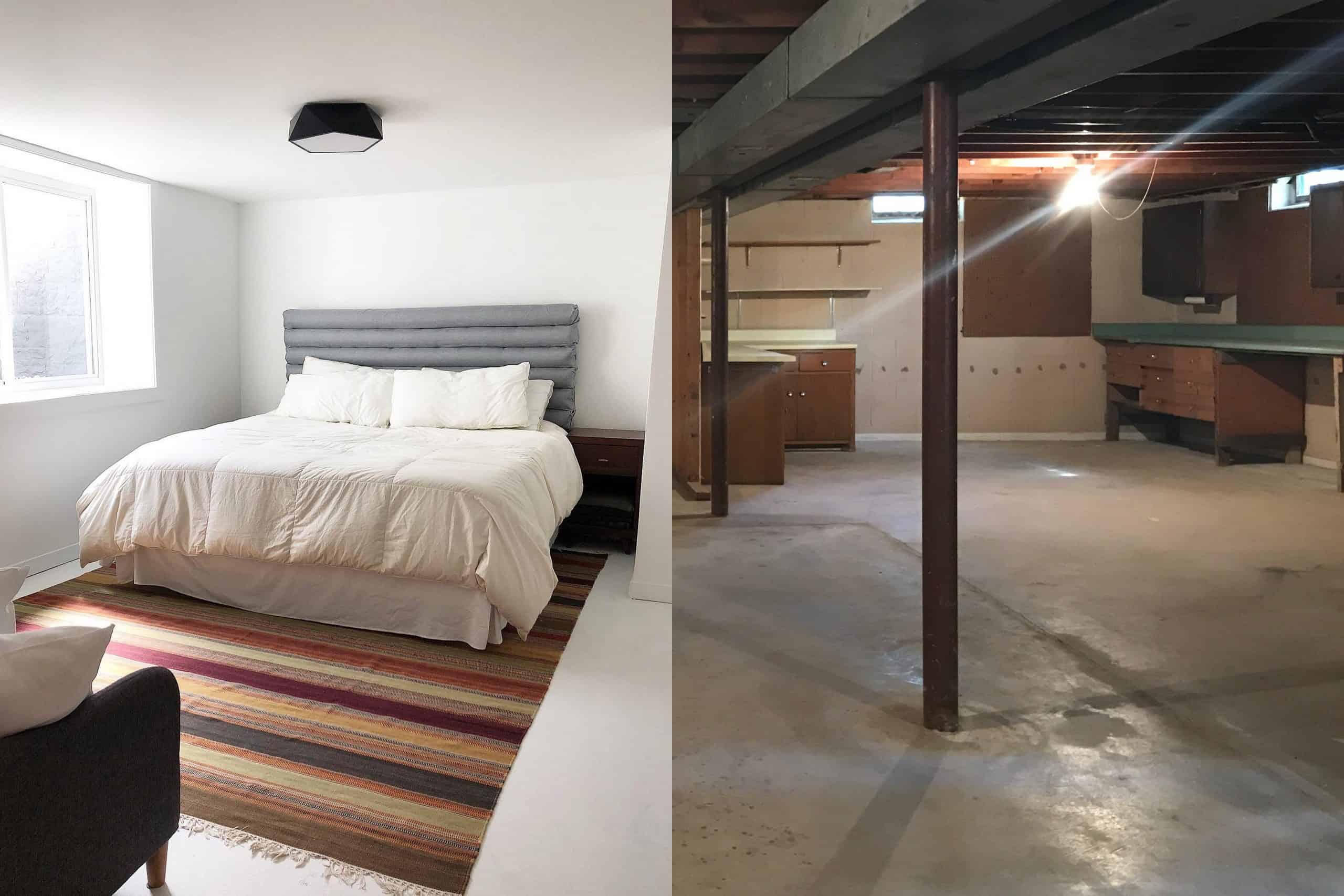 Cost to Add Basement Guest Bedroom