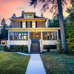 Historic Four Square House in Duluth Minnesota