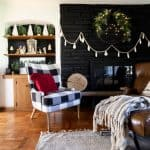 BrightGreenDoor Christmas Living Room