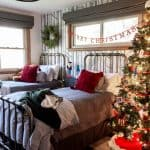Vintage Modern Christmas Boy Room